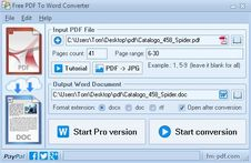 Free PDF To Word Converter Video Tutorial
