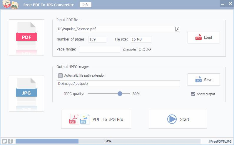 FM PDF To JPG Converter Free 2.35
